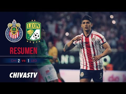 Chivas le gana a León | Resumen | Chivas 2-1 León | Todos los goles | J16 Liga MX CL19