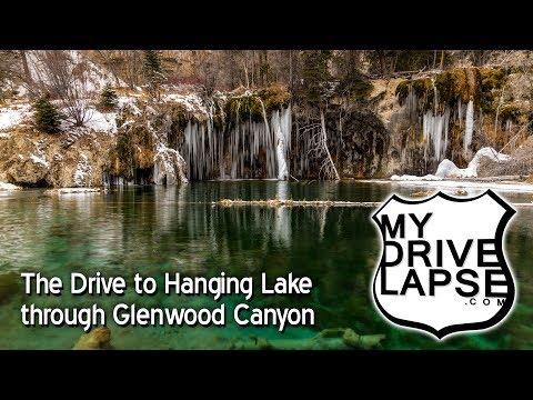 Glenwood Canyon & the Drive to Hanging Lake, Colorado I-70