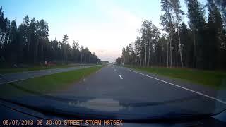 Минск - таксист сбил собаку или собаки бросаются под колеса!!
