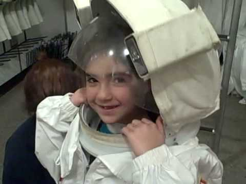 putting on a space suit - photo #2