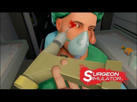 SURGEON SIMULATOR | OPERAMOS EN AMBULANCIA | Operando en Realidad Virtual (HTC Vive)