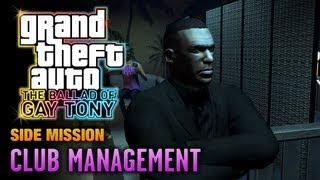 GTA: The Ballad of Gay Tony - Club Management (1080p)