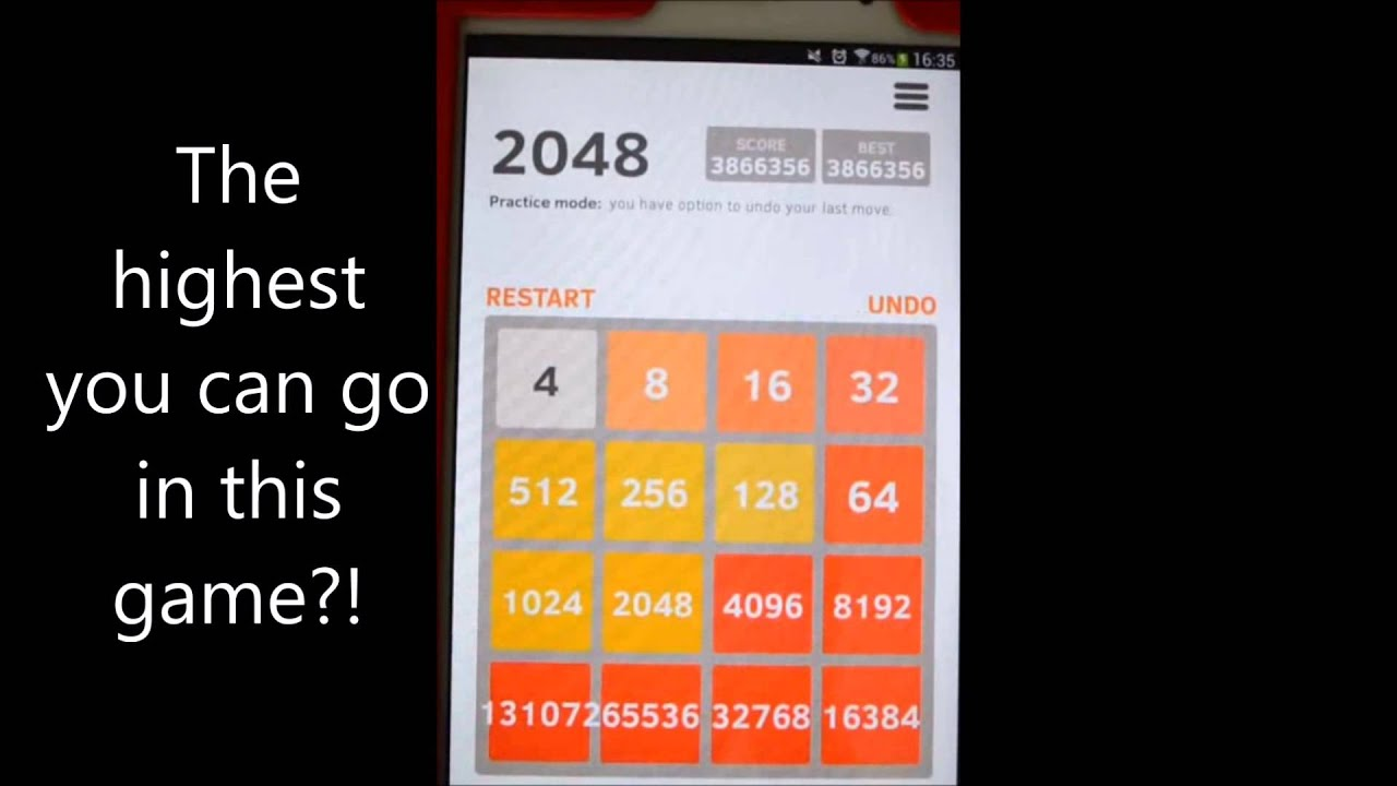 2048 Highest Tile | Tile Design Ideas