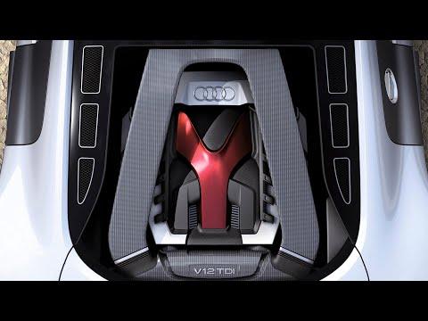 Audi R8 с дизельным V12. Спорткар, о котором ты не знал.