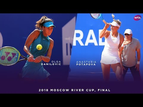 Olga Danilovic vs. Anastasia Potapova | 2018 Moscow River Cup Final | WTA Highlights