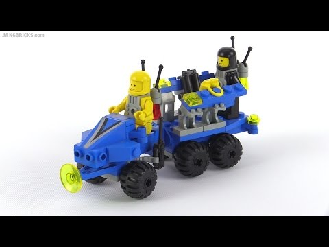 LEGO Classic Space Mobile Command Trailer from 1986! set 1558