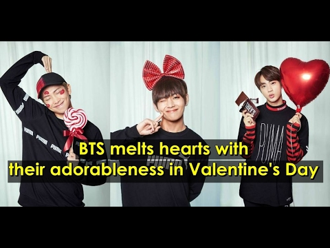 Bts Melts Hearts With Their Adorableness In Valentine S Day Photo