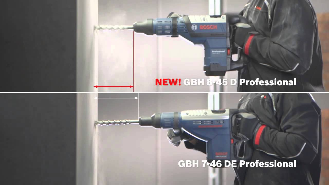 Bosch GBH 8-45 D Professional Rotary Hammer with SDS-max