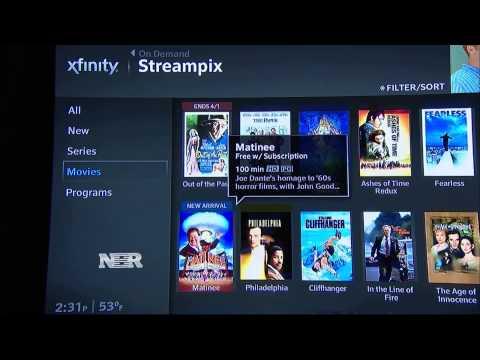 Comcast's Streaming Service