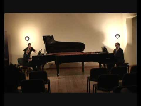 Prokofiev - Cinderella (1/5 Introduction) - Macha Kanza and Matthieu Cognet, pianos