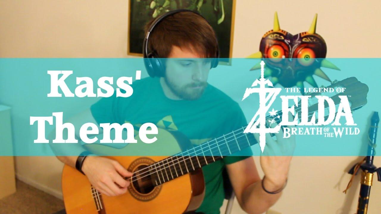 Kass' Theme - Solo Guitar - The Legend of Zelda: Breath of