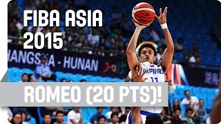 Terrence Romeo: 20 points v India - 2015 FIBA Asia Championship