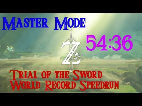 MASTER MODE - Trial of the Sword World Record Speedrun in 54:36