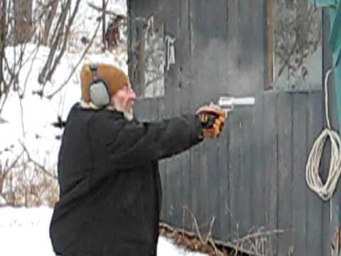 Monte shooting the .500