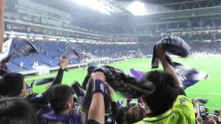 市立吹田スタジアム サンフレッチェ広島1-0ガンバ大阪.