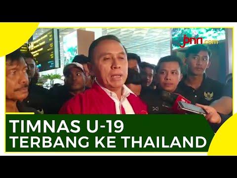 Iwan Bule Lepas Timnas U-19 Latihan di Thailand