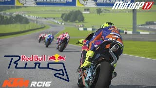 MotoGP 17   KTM RC16 @ Spielberg - RedBull Ring [Gameplay] [Elgato]