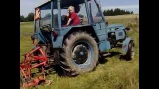 Farma Tábořík Zetor 6911 sekačka čáp
