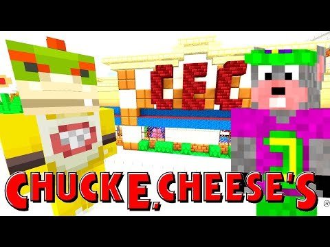 *SCARY* CHUCKE CHEESE IS HAUNTED!  Nintendo Fun House  Minecraft Switch 268