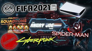 AJS News- Cyberpunk 2077 Delayed AGAIN, Spider-man PS5, Squadrons NO Microtransactions, FIFA on PC!