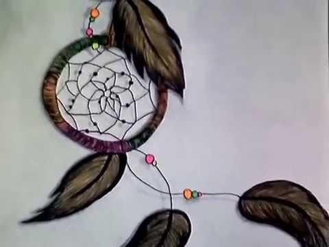Dibujo Atrapasueños Y León Youtube
