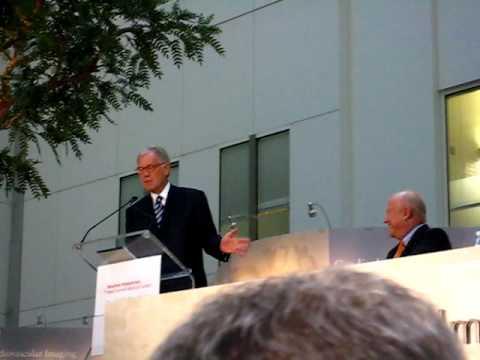 David Letterman Speech, Ronald Perelman Heart Institute