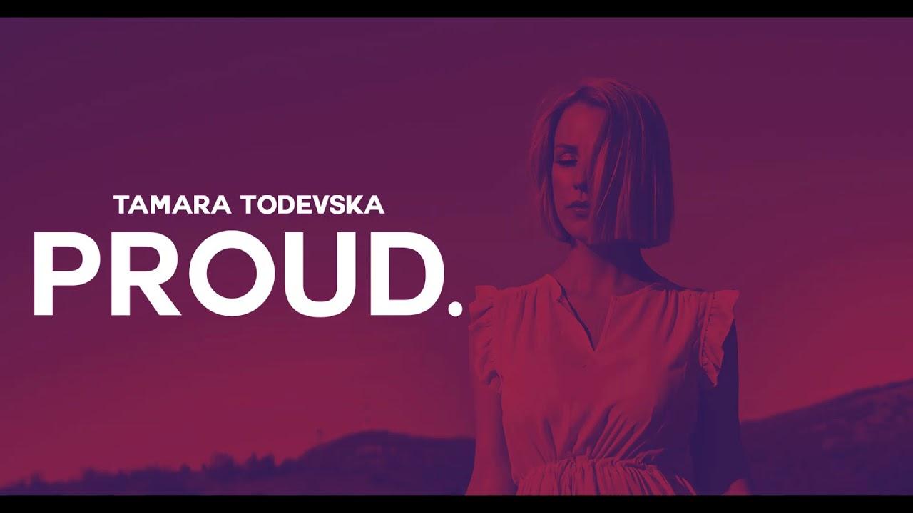 Ремикс на евровизиската Proud на Тамара Тодевска