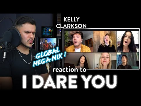 Kelly Clarkson Reaction I Dare You (Multi - Language Version) WOW! | Dereck Reacts