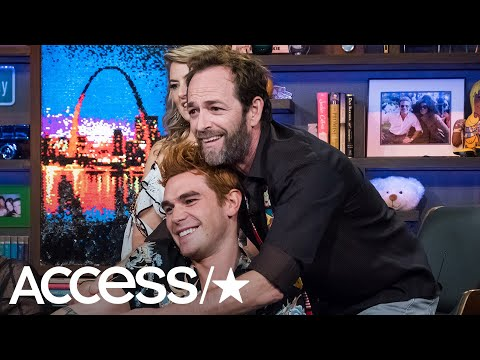 KJ Apa's Story Of How 'Riverdale' Dad Luke Perry Was A Real-Life Father Figure Will Make You Cry