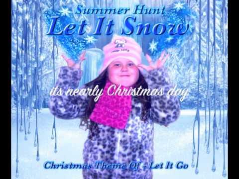 Let It Snow - Christmas Theme (Frozen) Let It Go - YouTube