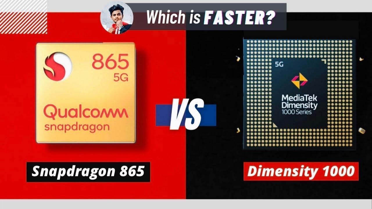 (தமிழ்) Dimensity 1000 vs Snapdragon 865 - A Detailed Specs Comparison