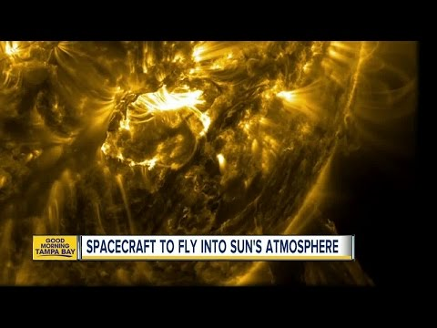 Spacecraft to fly into sun's atmosphere