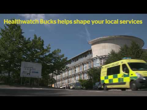 Healthwatch Bucks Awareness film High Wycombe MASTER HD