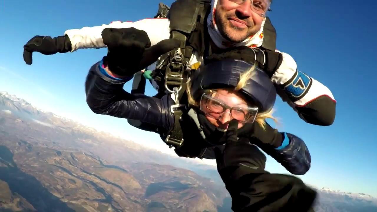 saut en parachute 40 000 m