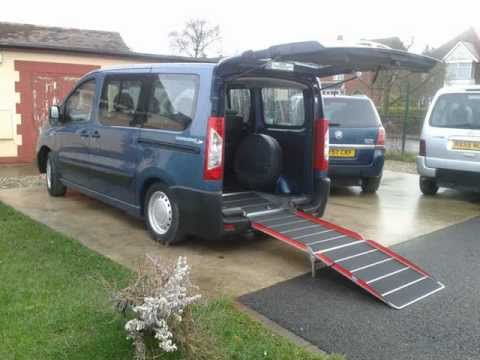 Latest Wheelchair Access Vehicle Peugeot Expert 2011 Blue from ...