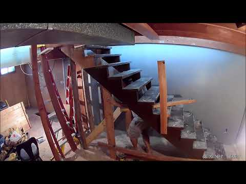 House Project Part 24 Moving Stairs And A Door