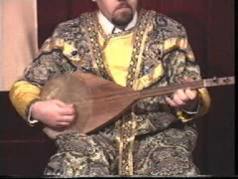 Ancient Azerbaijan musical instrument - Gopuz