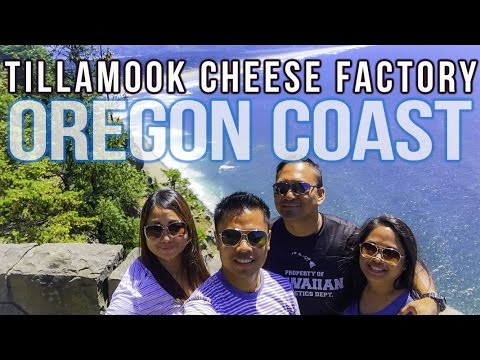 Tillamook Cheese Factory Oregon Coast Road Trip