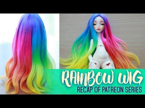 Rainbow Wig 2 series RECAP - Patreon Exclusive Series