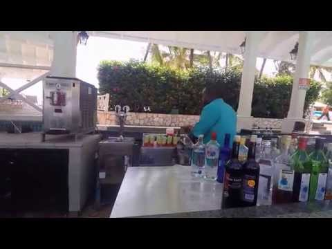 Jewels Dunn River Pool Bar Bob Marley Drinks!