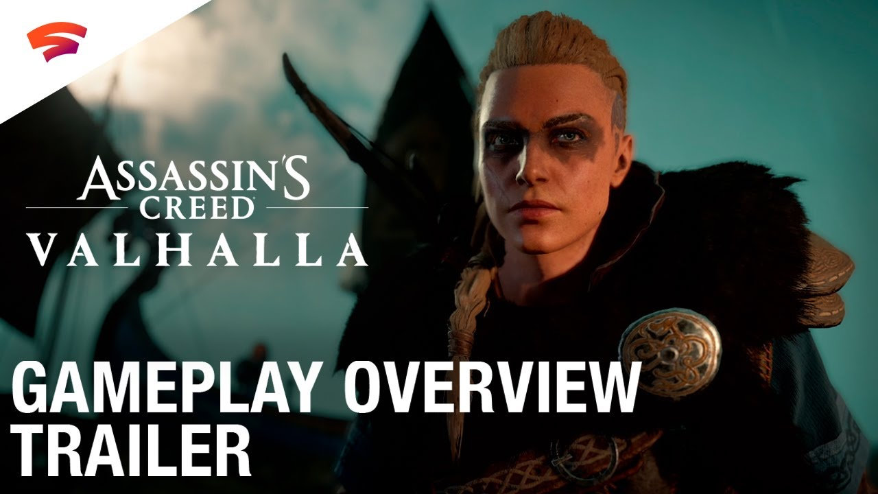 Assassin S Creed Valhalla Gameplay Overview Trailer Stadia
