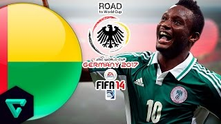 Guinea Bissau vs. Nigeria | CAF | Road To World Cup Germany 2017 | FIFA 14