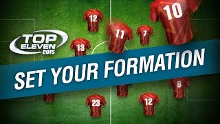 How to Set Your Formation | Top Eleven Tutorial