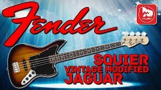 FENDER SQUIER VINTAGE MODIFIED JAGUAR BASS - ,бас-гитара