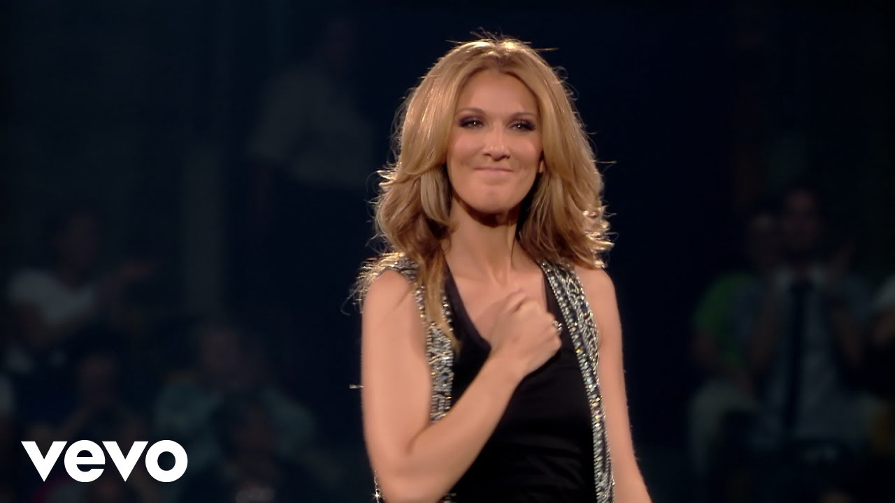 Celine Dion Pour Que Tu M Aimes Encore Live In Boston 2008 Youtube