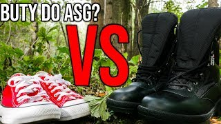 Podstawy o butach do ASG | ASG Maniak #91 Jakie buty wybrać?