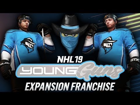 NHL 19 Young Guns | Expansion Franchise | EP1 | THE FUTURE IS BUILT HERE