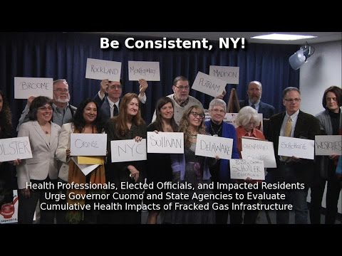 Demand for Health Impact Assessment of Fracking Infrastructure in NY