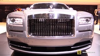 2015 Rolls-Royce Wraith Inspirered by Film - Exterior and Interior Walkaround - 2015 NY Auto Show
