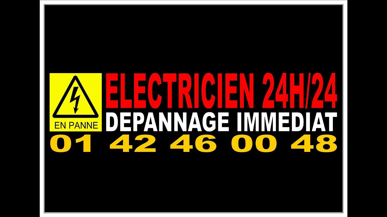 depannage electricite 24h 24 paris 17eme 0142460048. Black Bedroom Furniture Sets. Home Design Ideas